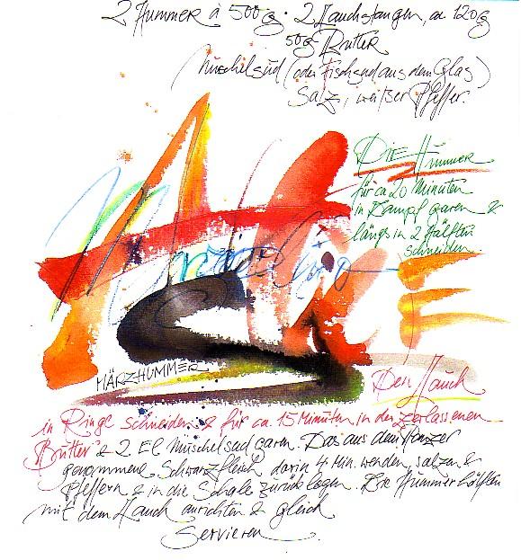 Handshcrift und Rezepte Dorendorff